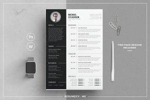 Resume/CV - MS