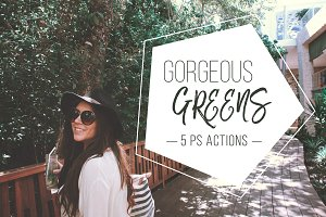 Gorgeous Greens PS Action Set