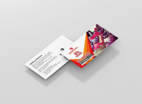 Gift Voucher Card PSD