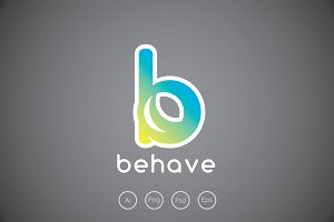 Behave - Letter B Logo Template