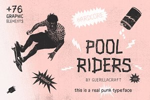 Pool Riders + Graphic Elements