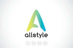 All Style - Letter A Logo Template