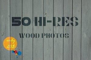 50 Hi-Res Wood Photos