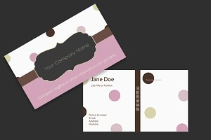 Dot Business Card Template