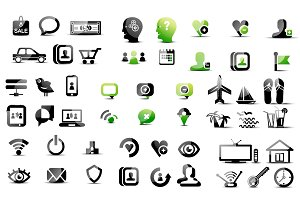Mega collection of pictograms