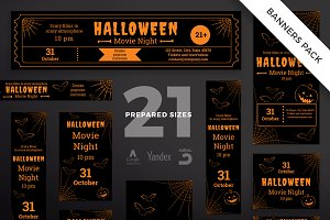 Banners Pack | Halloween