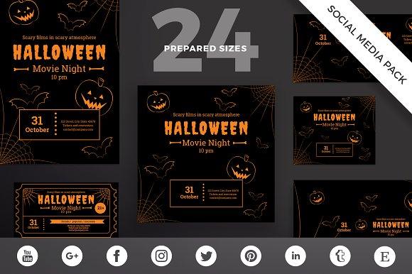 Social Media Pack | Halloween