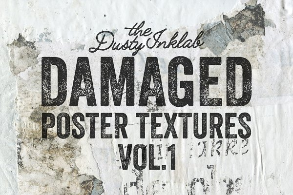 Damaged Poster Texture Vol. 1