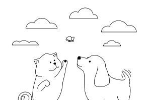 Pets friends
