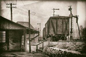 Ancient railway station