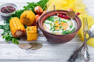 Soup cream of corn