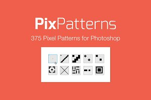Pix Patterns - 375 Pixel Patterns