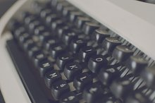 Typewriter keyboard