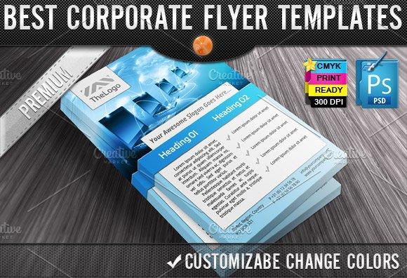 business computers flyers templates flyer templates creative market