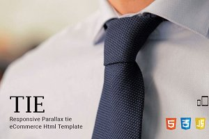 Tie - eCommerce Html Template