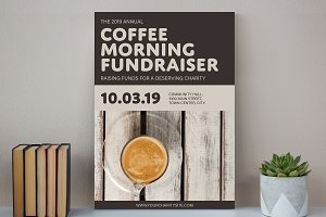 Coffee Poster Mockup