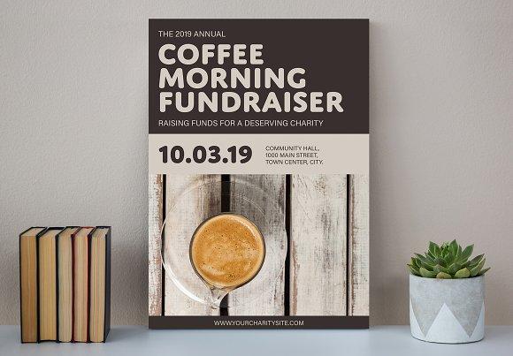 Coffee Poster Mockup