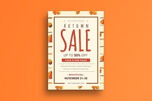 Autumn Sale Flyer