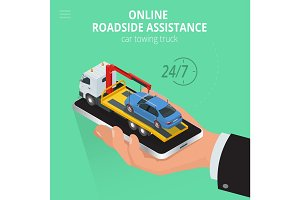 Car towing truck Online