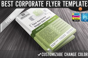 QR Codes 3D Boxes Business Flyers