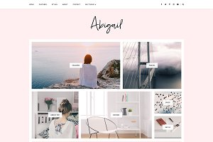Blogger Template Responsive- Abigail