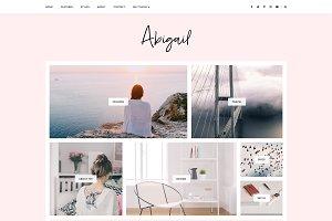 Blogger Template Responsive- Abigail