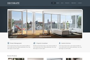 Decorate - Interior WordPress Theme