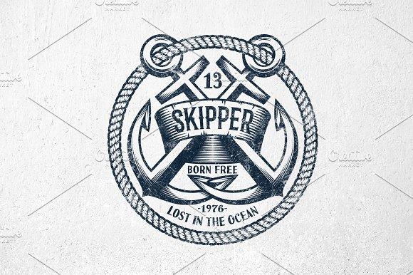 Skipper Anchor Logo