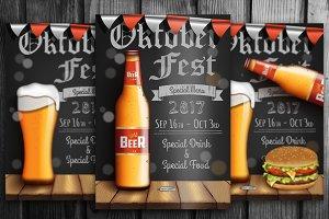 Oktober Fest Posters