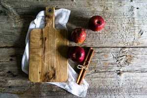 Apples & Cinnamon | Autumn Photo