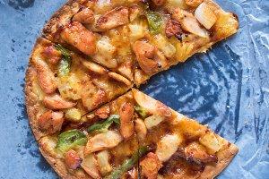 BBQ chicken supreme pizza