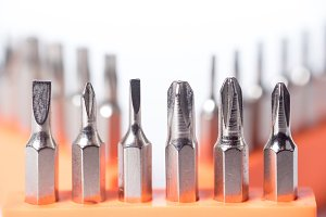 many type of screwdriver head