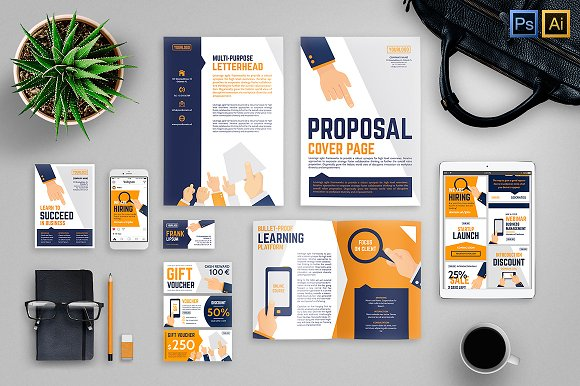 Stationery Vector Business Identity