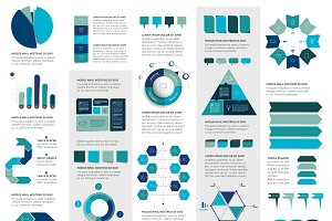 Mega set of infographics