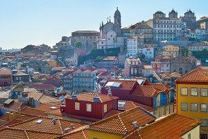 Architecture of Ribeira, Porto