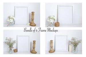 Bundle-4 Frame Mockups