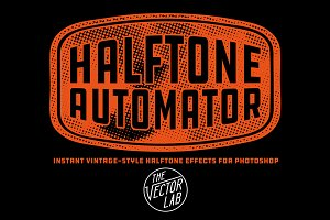 Halftone Automator for Photoshop