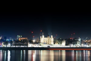 The Tower of London by night