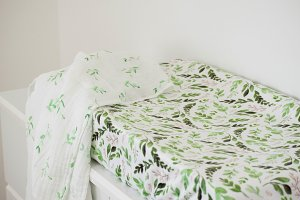 Leaf Changing Pad Cover