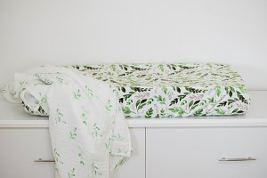Nursery with Leaf Changing Pad