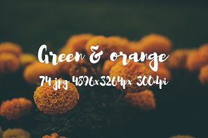 Green and orange bundle