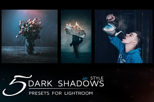 5 Lightroom Presets in dark tones