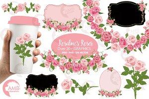 Rosalie's Roses graphics AMB-2255