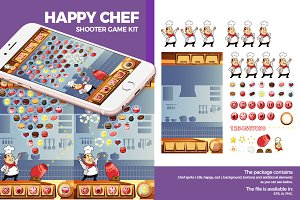 Happy Chef Ball Shooter Game Kit
