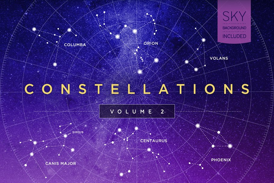 Constellations Vector Bundle in Illustrations - product preview 8