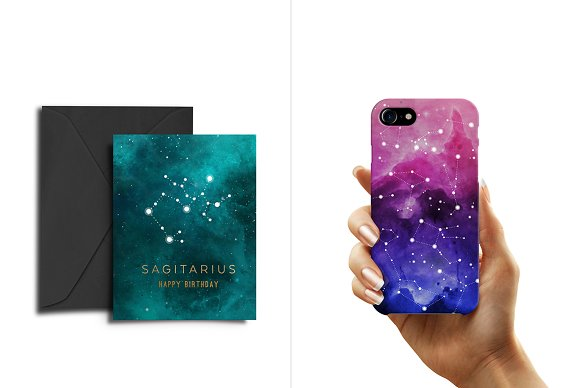 Constellations Vector Bundle in Illustrations - product preview 1