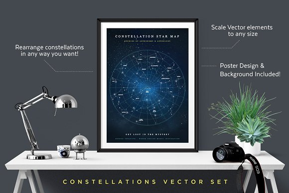 Constellations Vector Bundle in Illustrations - product preview 6