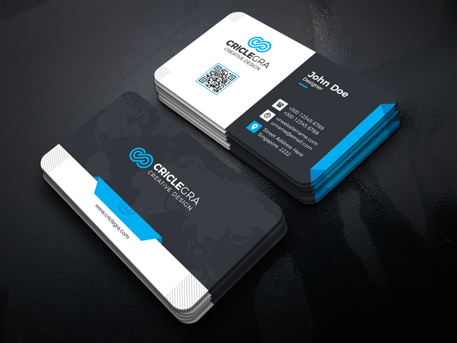 Business card business card templates creative market magicingreecefo Gallery