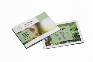 Green Leaf - A5 Creative Brochure