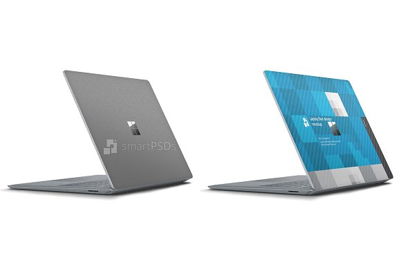 Microsoft Surface Laptop 2017 Skin ~ Product Mockups ~ Creative Market
